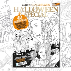 Latest Colouring Heaven issue on sale